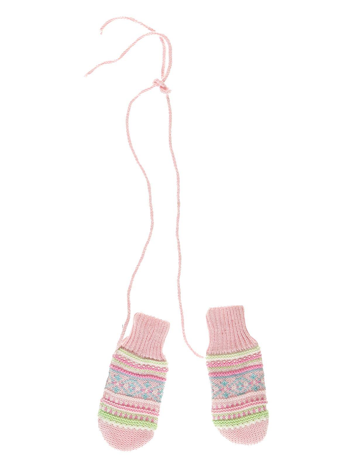 Рукавички рожеві в малюнок   3623112