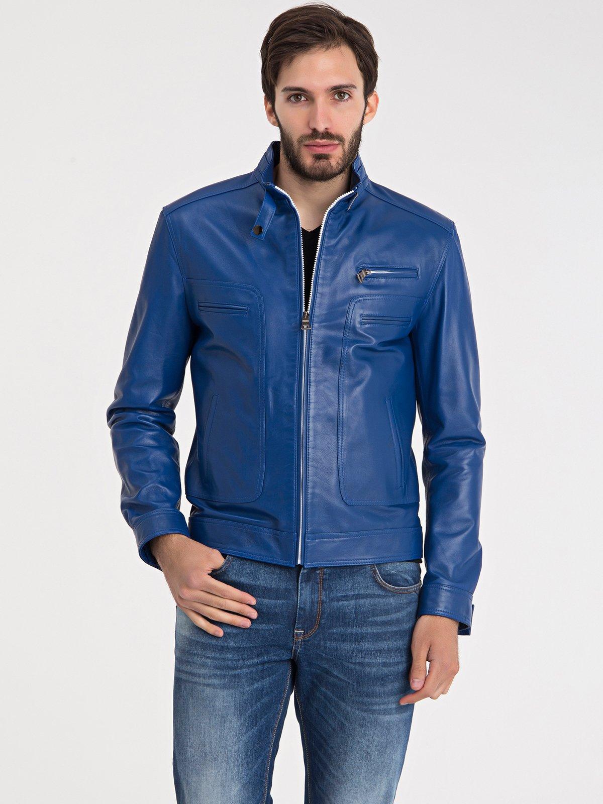 Куртка синя | 3650130