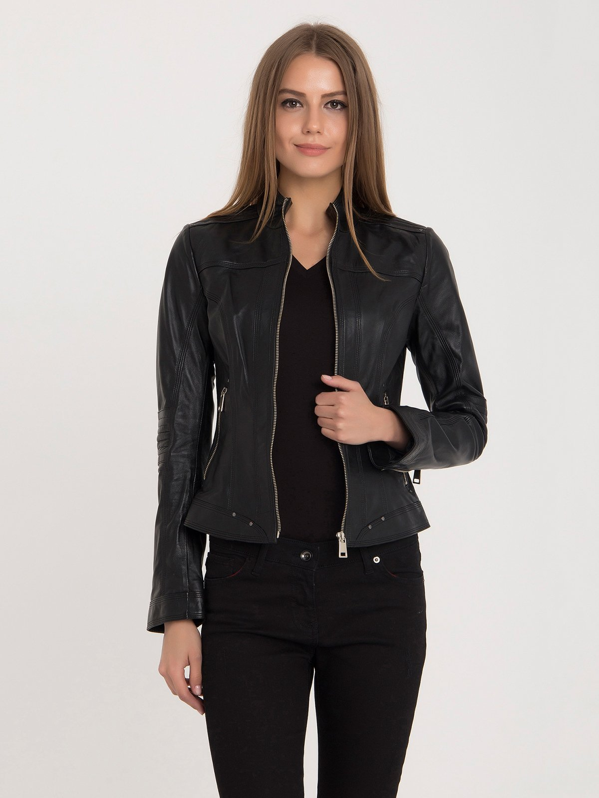 Куртка черная | 3650393 | фото 2