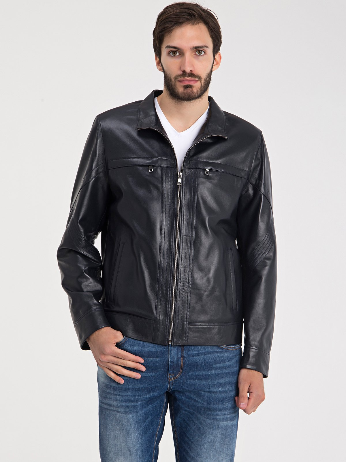 Куртка темно-синя | 3650183
