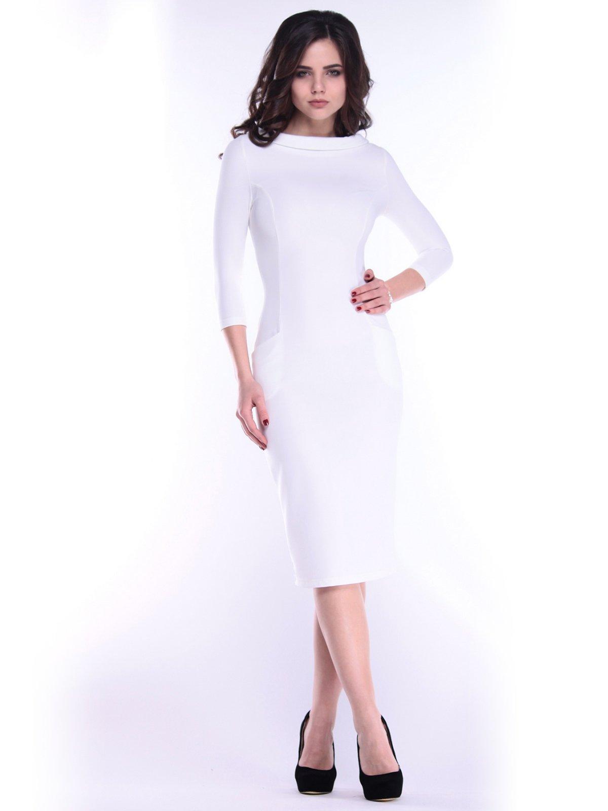 Платье молочного цвета | 2985918