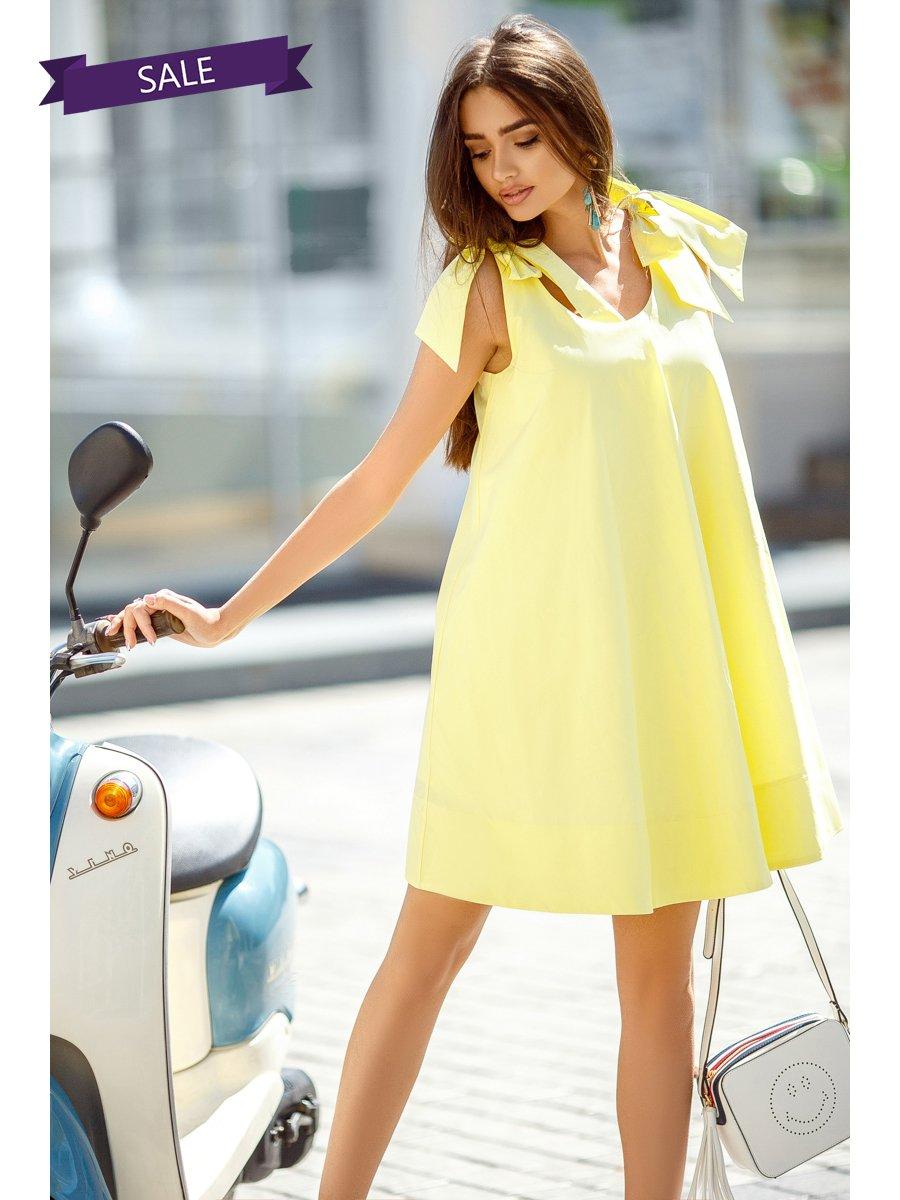 Платье желтое   3283969