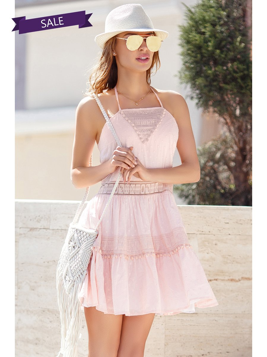 Сарафан розовый | 3344431