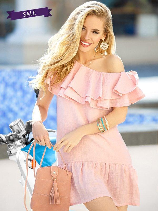 Платье розовое   3407528