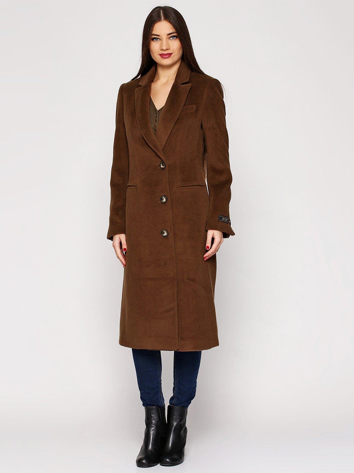 Пальто кольору хакі | 3652695
