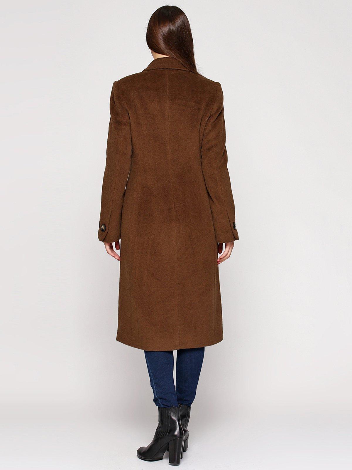 Пальто цвета хаки | 3652695 | фото 2