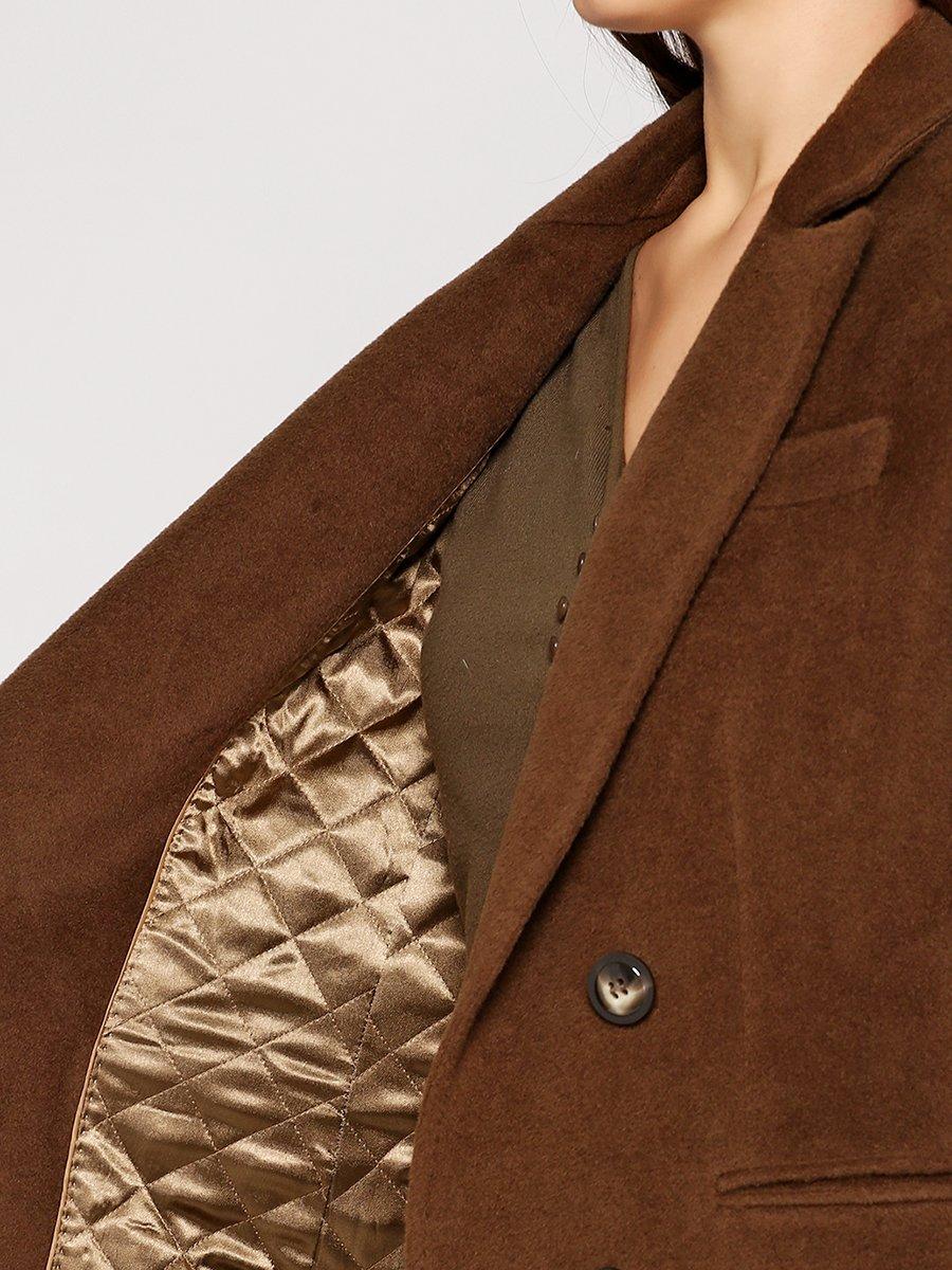 Пальто цвета хаки | 3652695 | фото 3