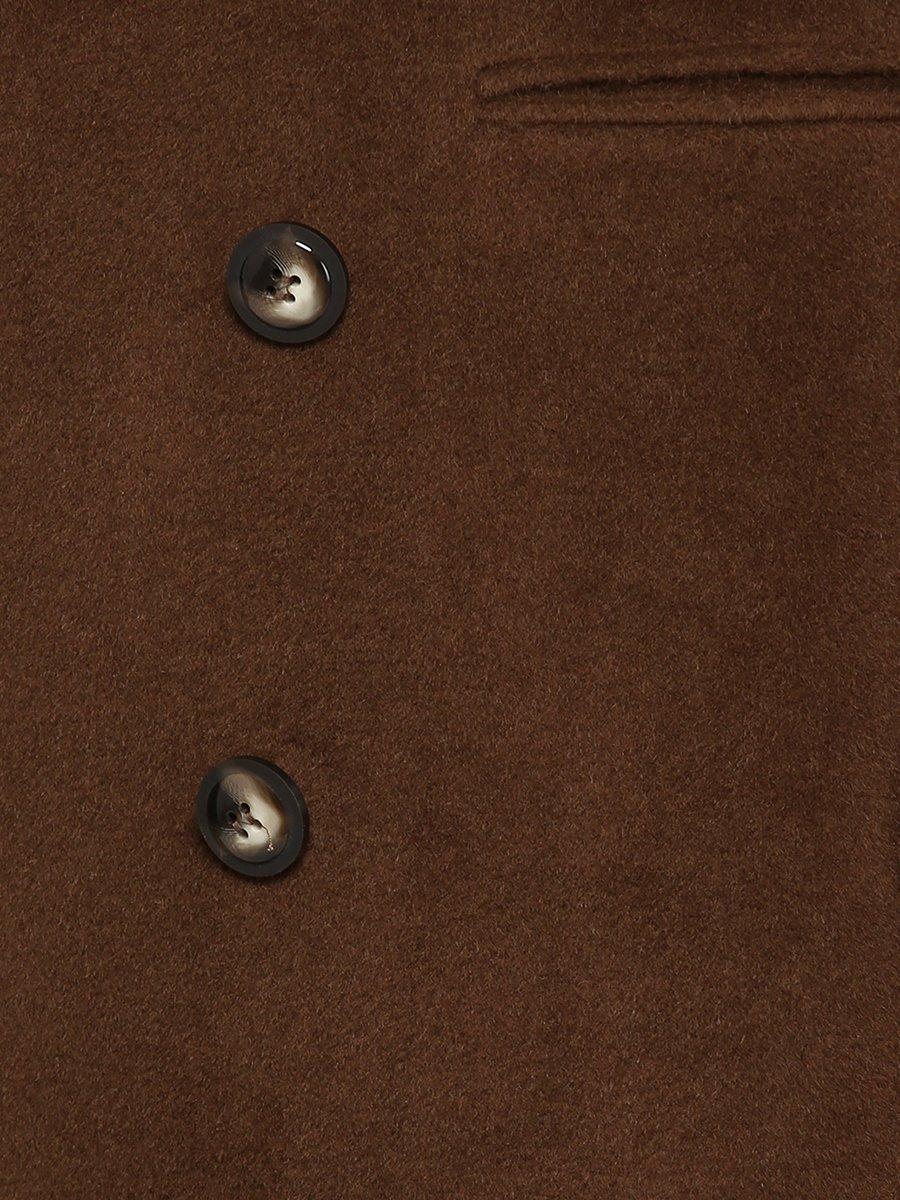 Пальто цвета хаки | 3652695 | фото 4