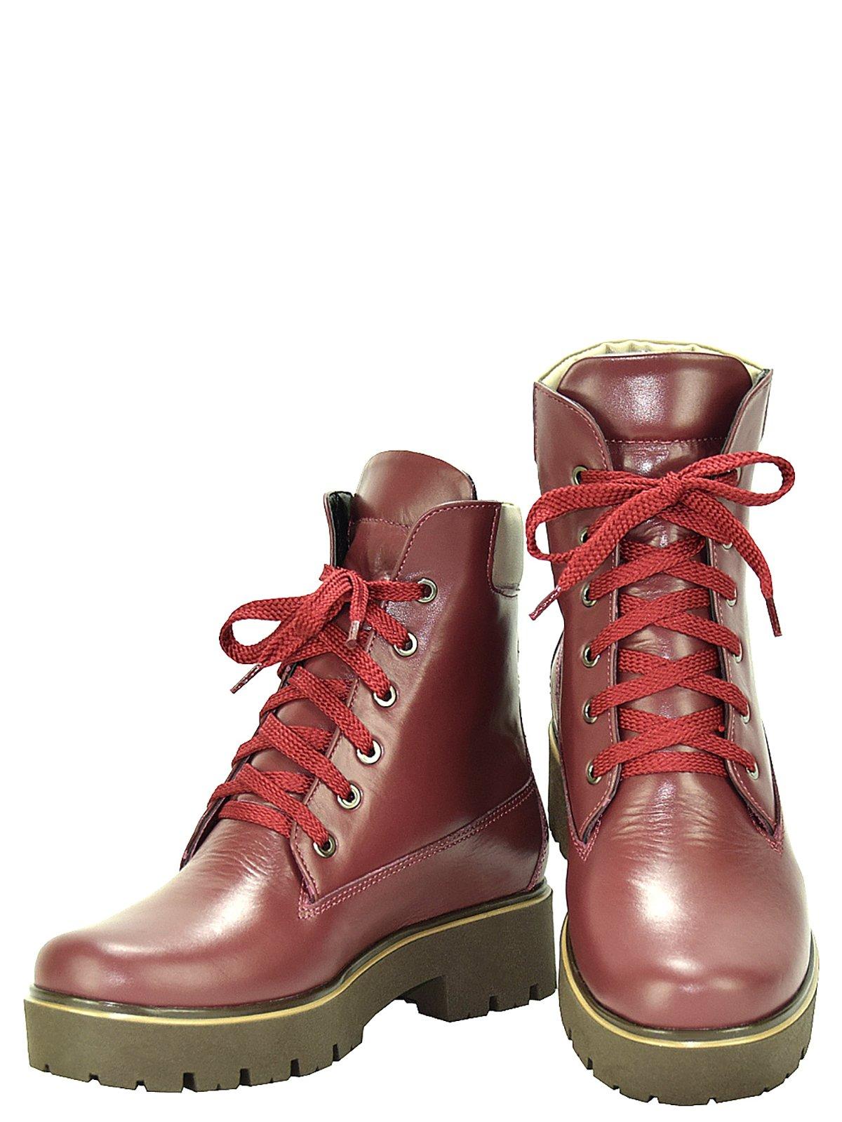 Ботинки бордовые | 3656765 | фото 2