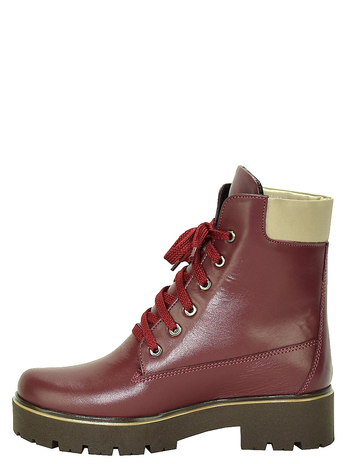 Ботинки бордовые | 3656765 | фото 3
