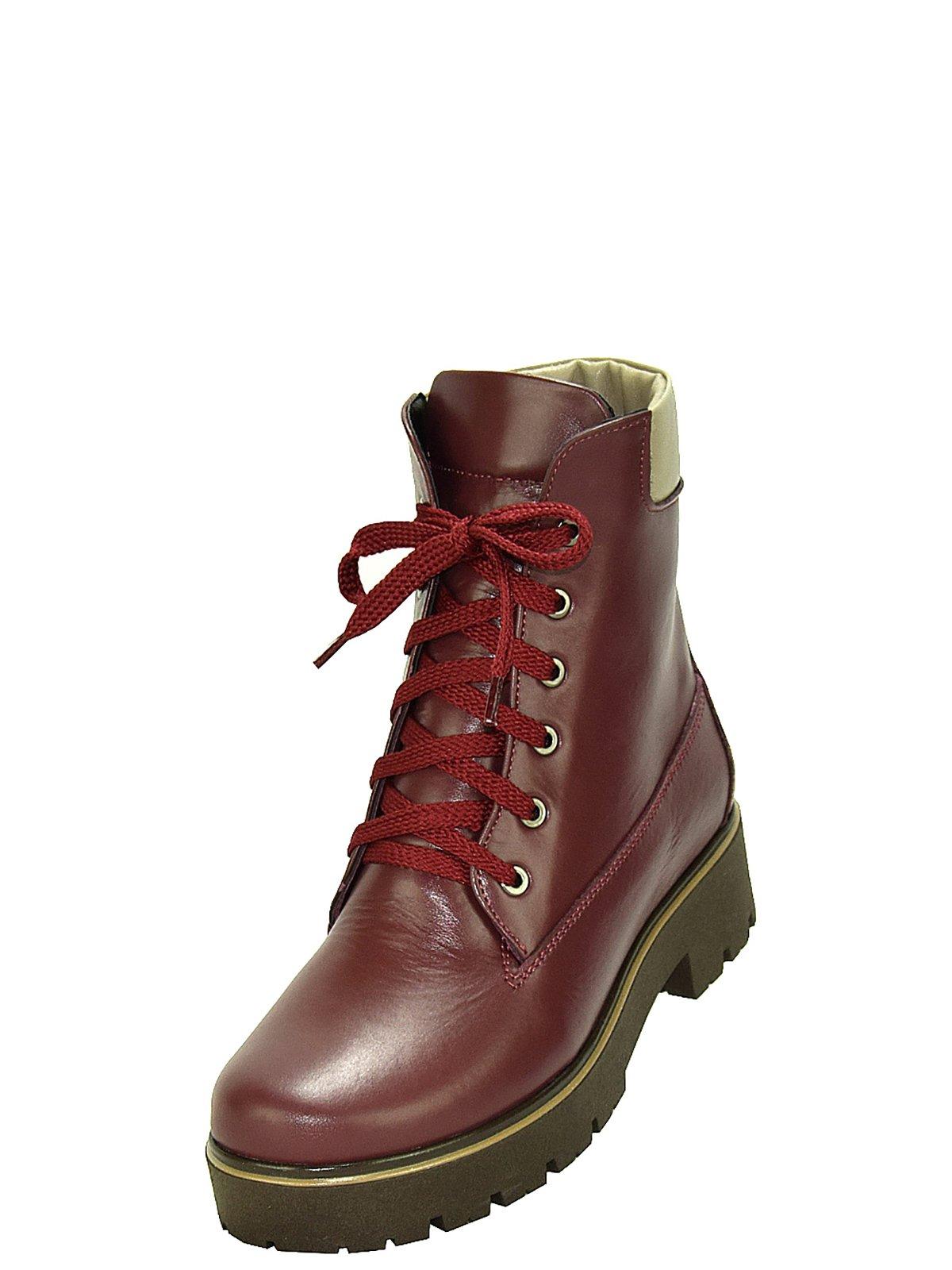 Ботинки бордовые | 3656765 | фото 4