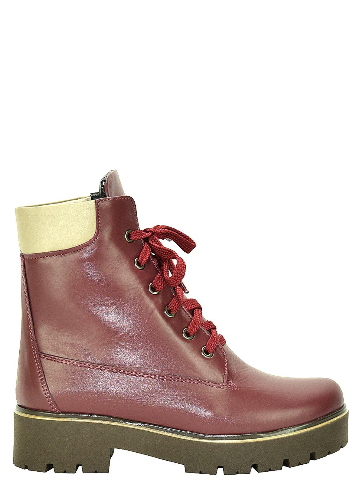 Ботинки бордовые | 3656765 | фото 5