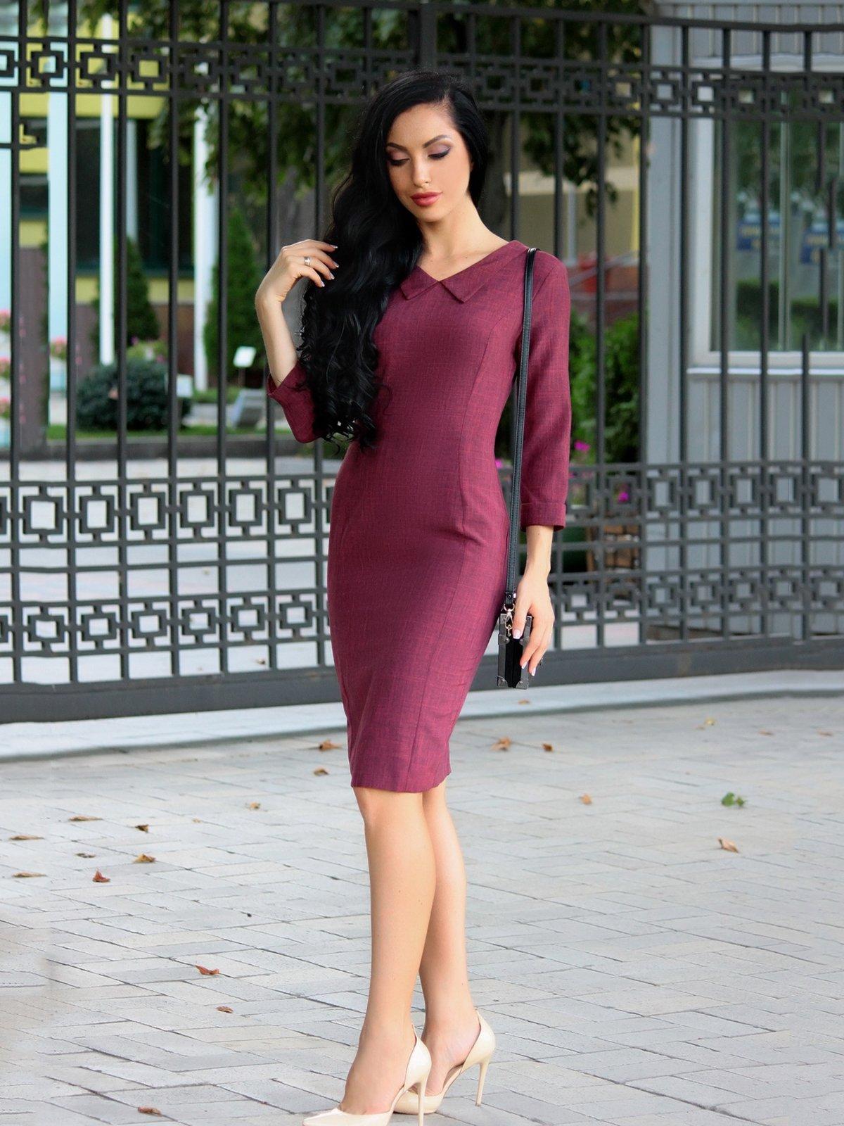 Платье светло-сливовое | 3657240
