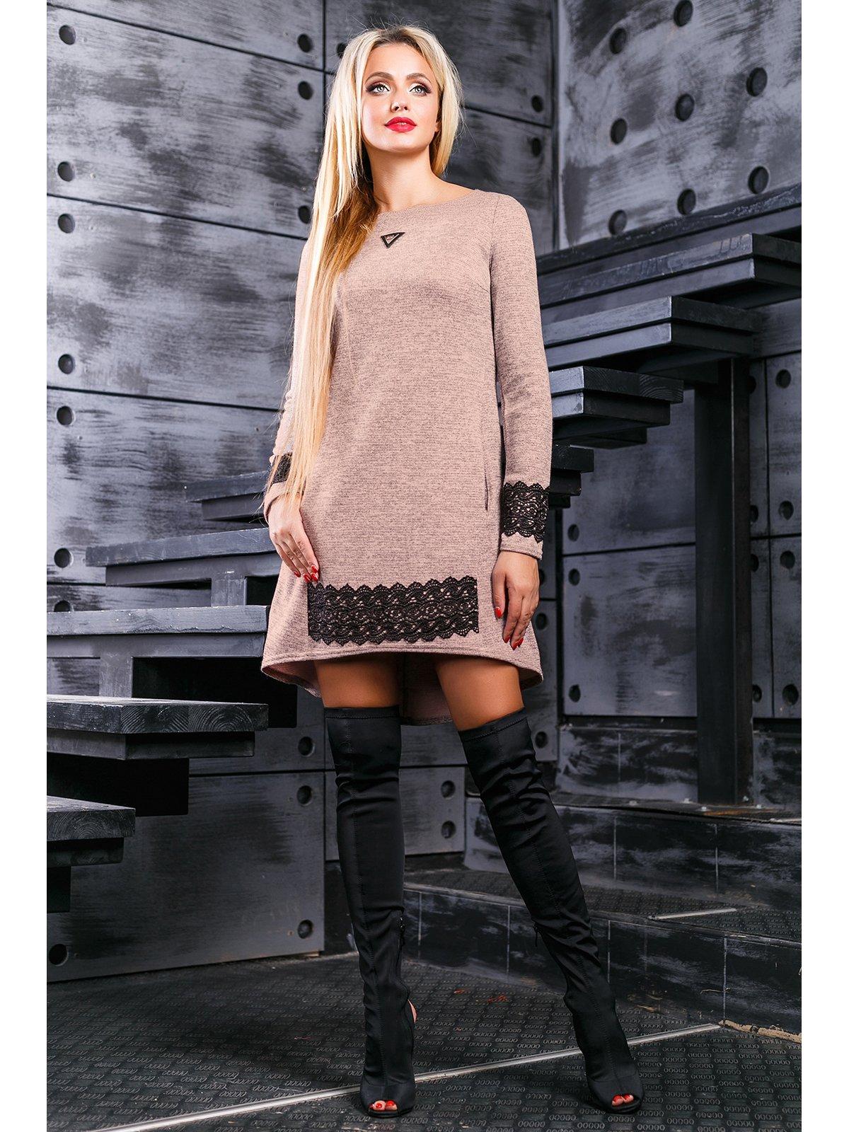 Платье персикового цвета | 3664306