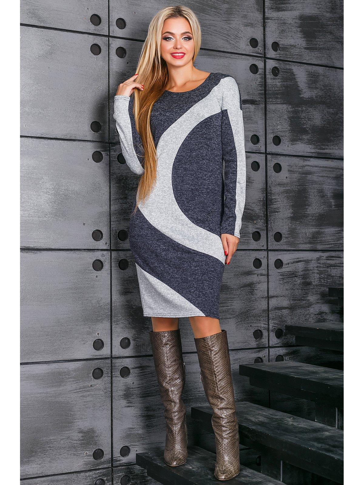 Платье синее | 3664335
