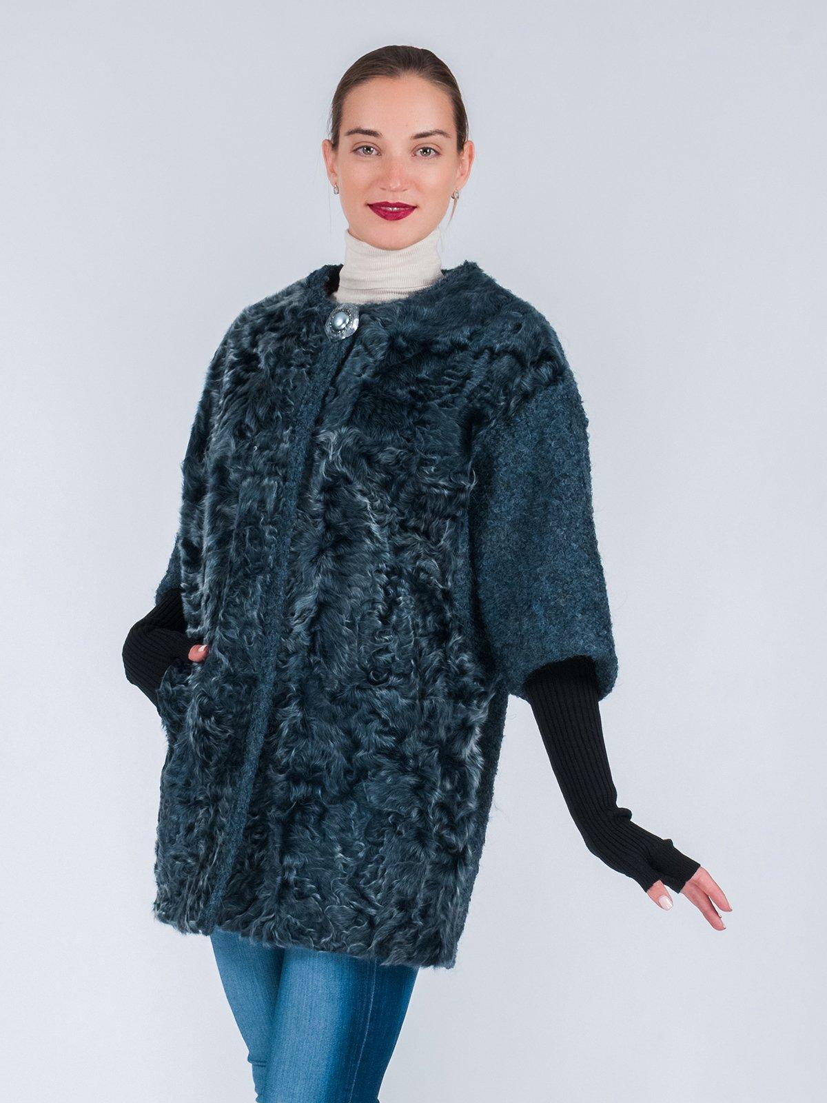 Пальто серо-зеленое | 3652672