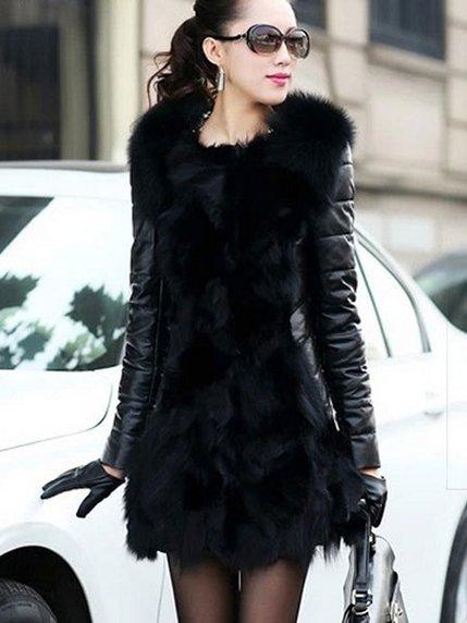 Пальто черное   3576555   фото 2