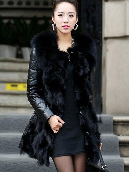 Пальто черное   3576555   фото 3