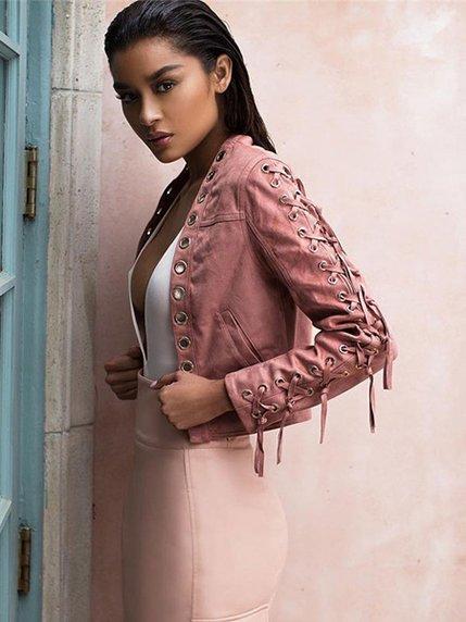 Куртка розовая | 3666441 | фото 3