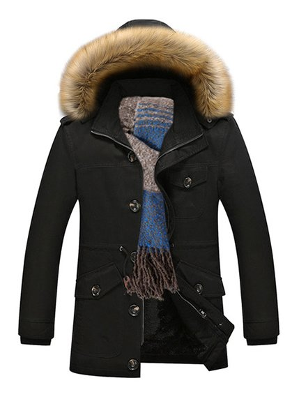 Куртка чорна | 3666665