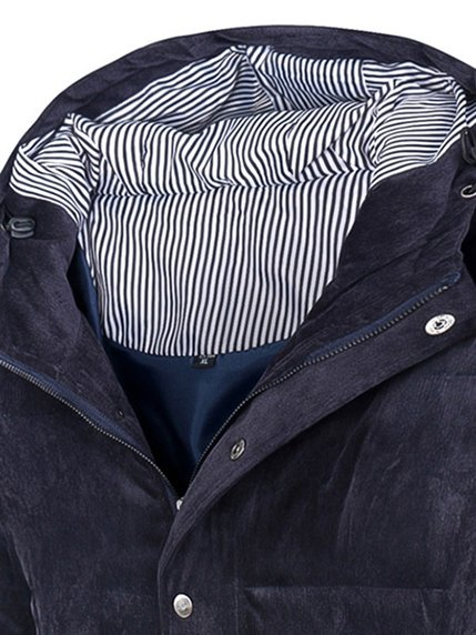 Куртка темно-синяя | 3666714 | фото 3