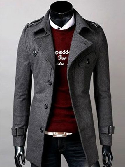 Пальто серое | 3666914