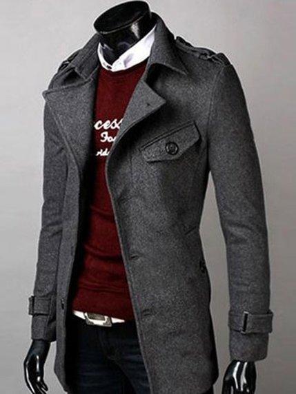 Пальто серое | 3666914 | фото 2
