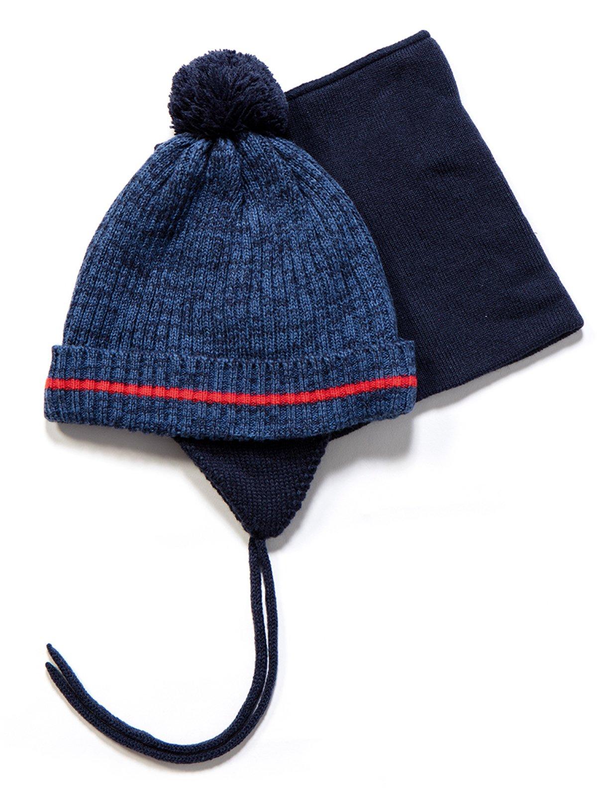 Комплект: шапка і манішка | 3670949