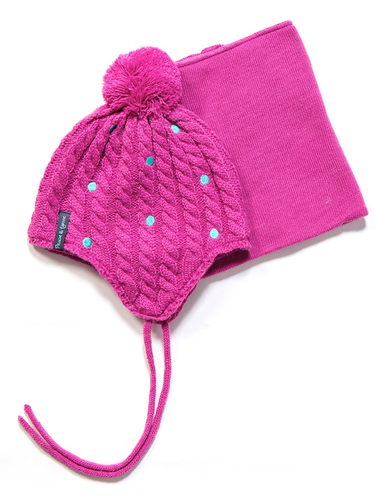 Комплект: шапка і манішка | 3670958