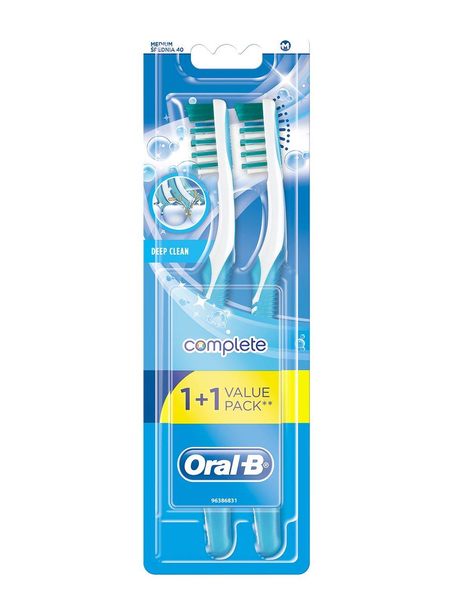 Зубна щітка Комплекс «Глибока чистка» - середня (1 шт. + 1 шт ... b6ec820dd7c73