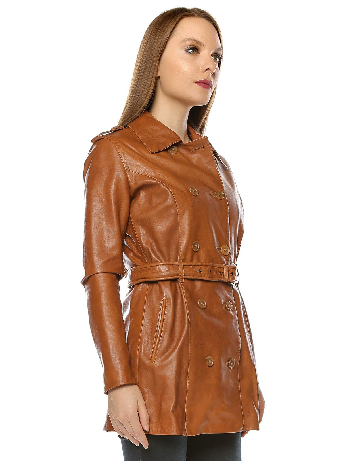 Куртка коньячного цвета | 3674410 | фото 4