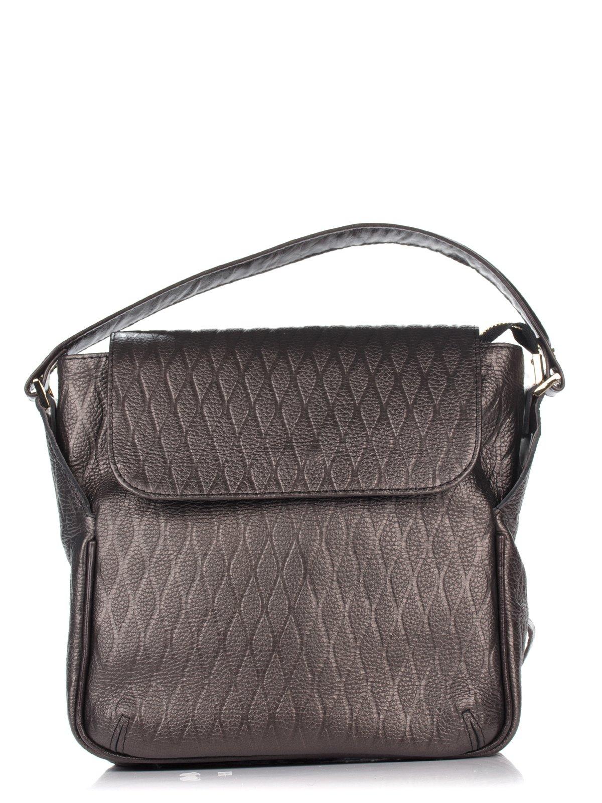 Сумка-рюкзак коричневая | 3681014
