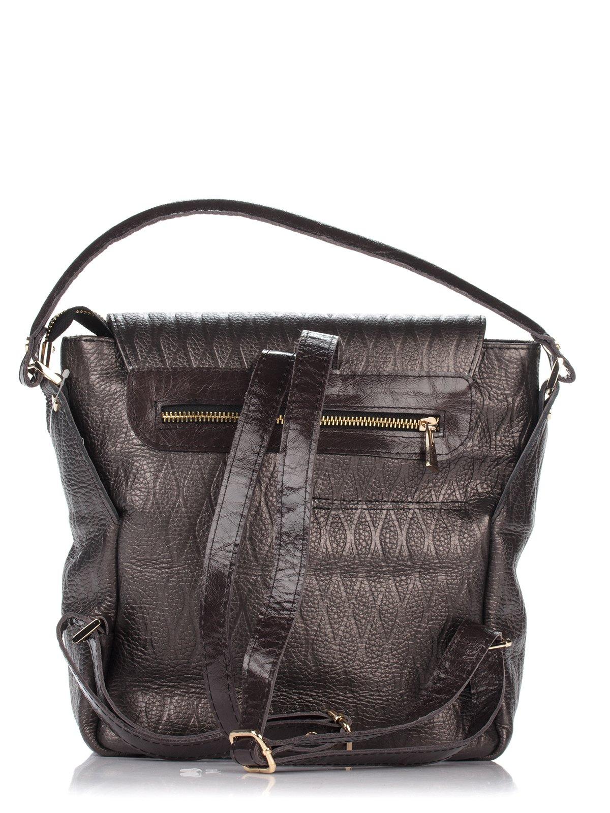 Сумка-рюкзак коричневая | 3681014 | фото 2