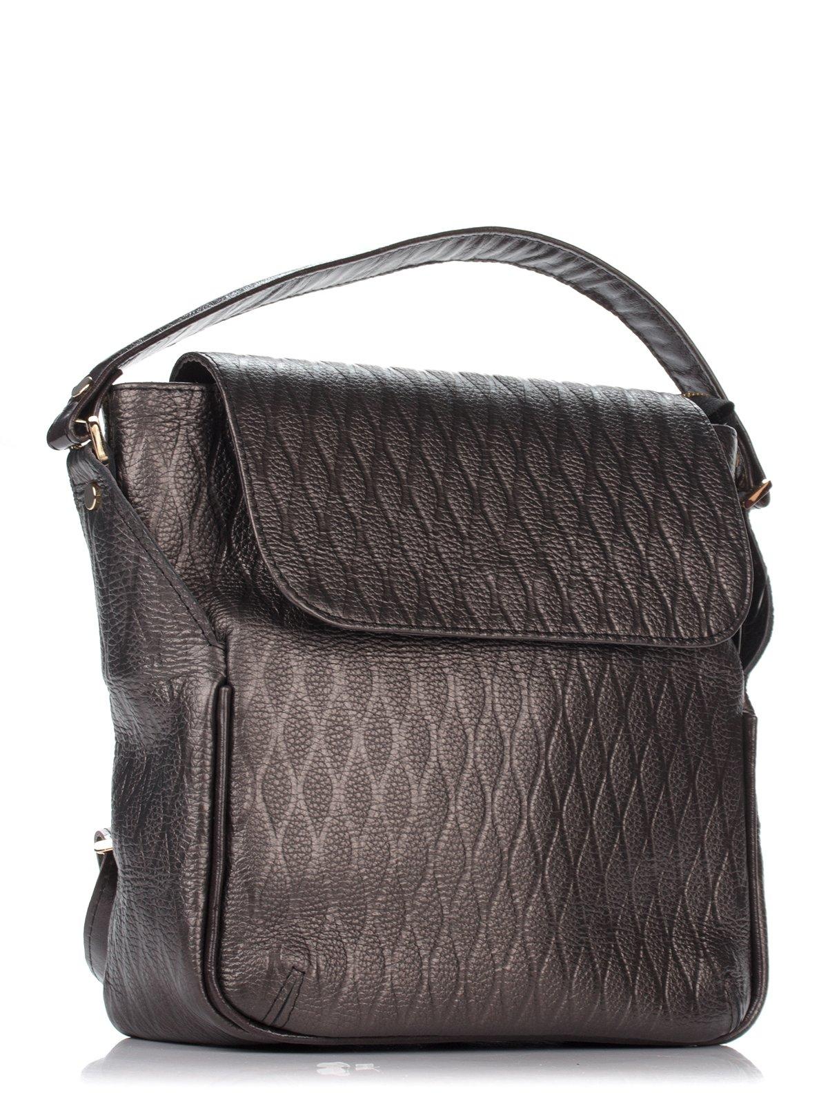 Сумка-рюкзак коричневая | 3681014 | фото 3