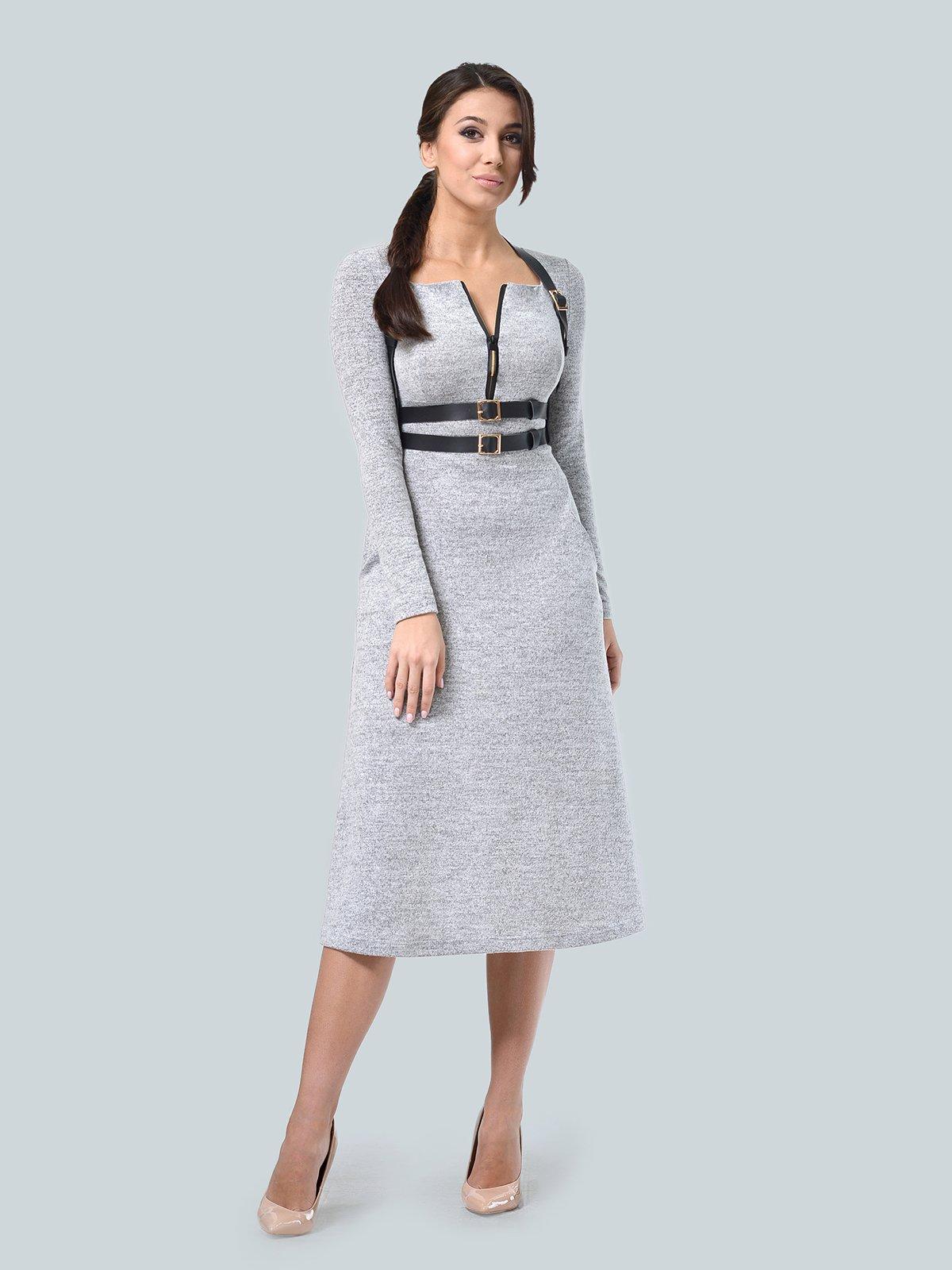 Сукня світло-сіра | 3683572