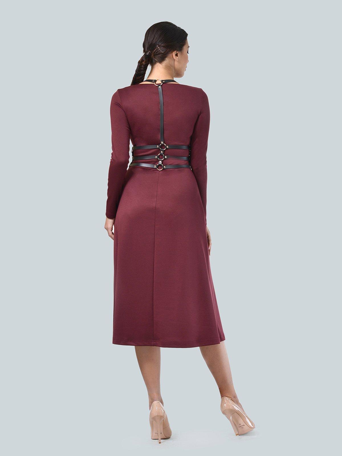 Платье бордовое   3683579   фото 3