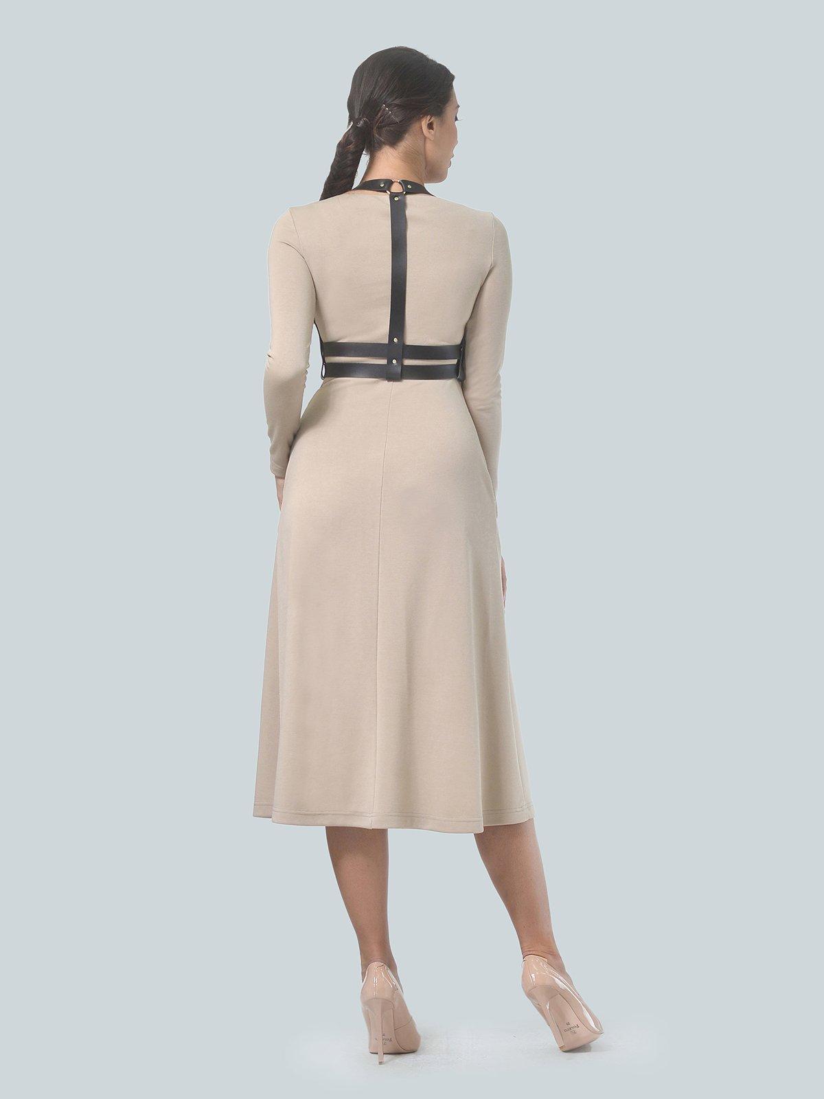 Платье песочного цвета | 3683582 | фото 4