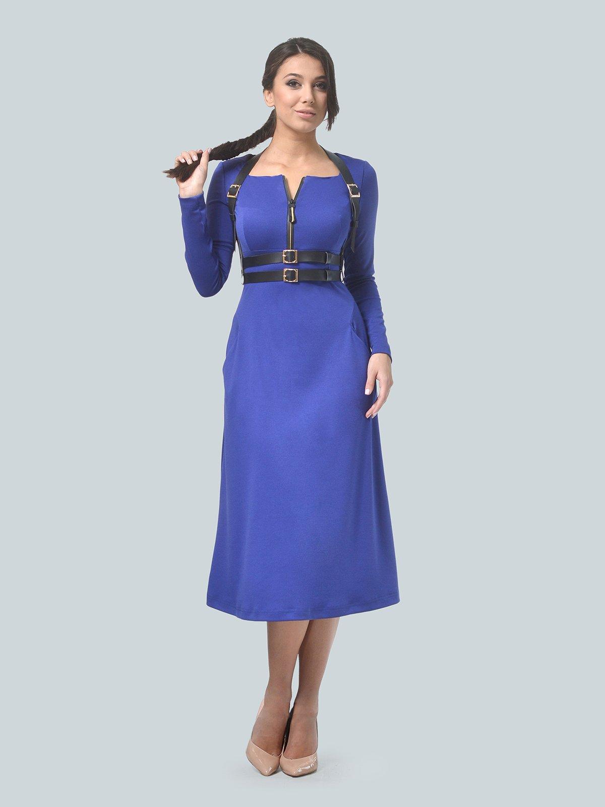Платье цвета электрик | 3683584 | фото 2