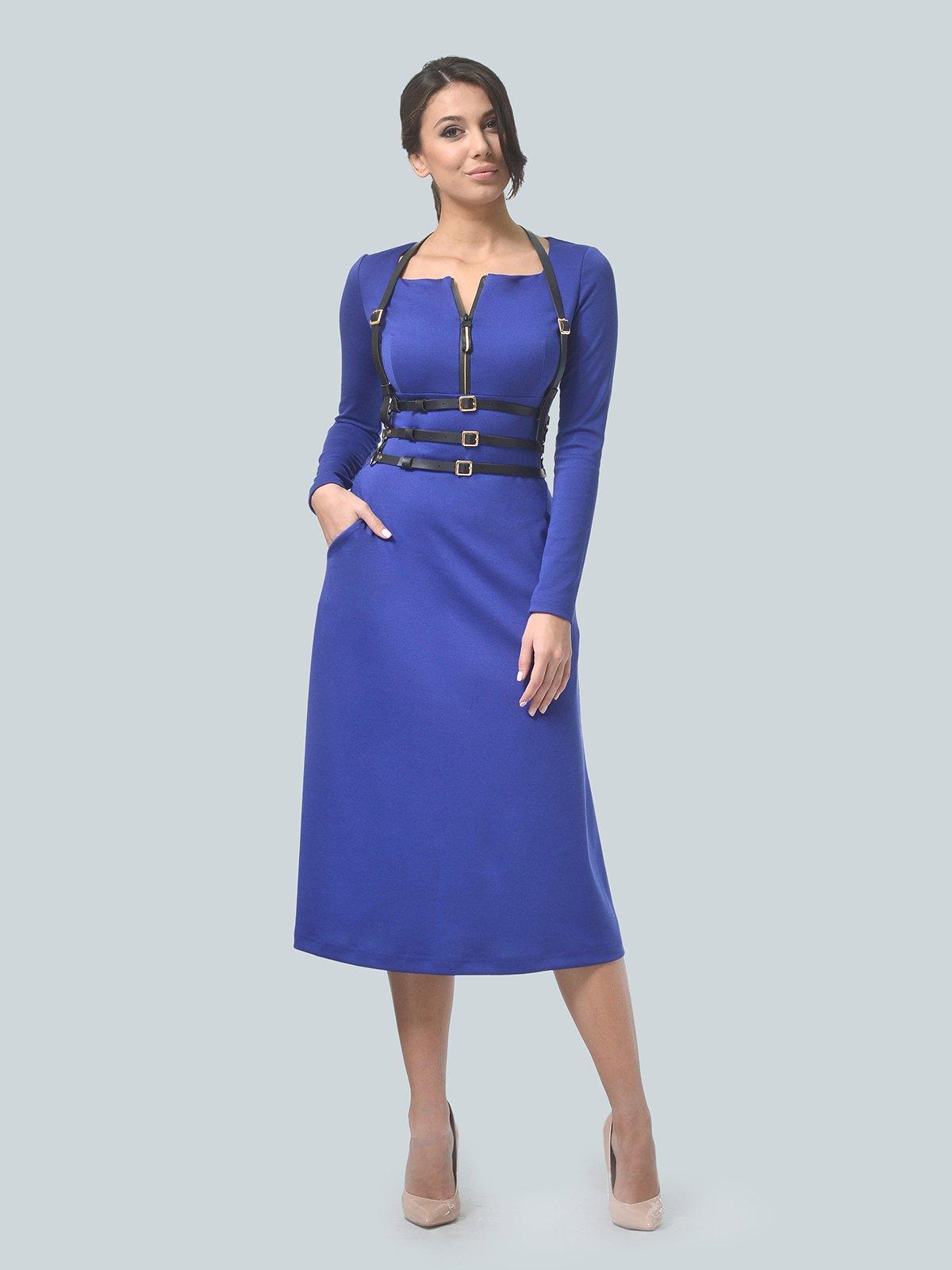 Платье цвета электрик | 3683585