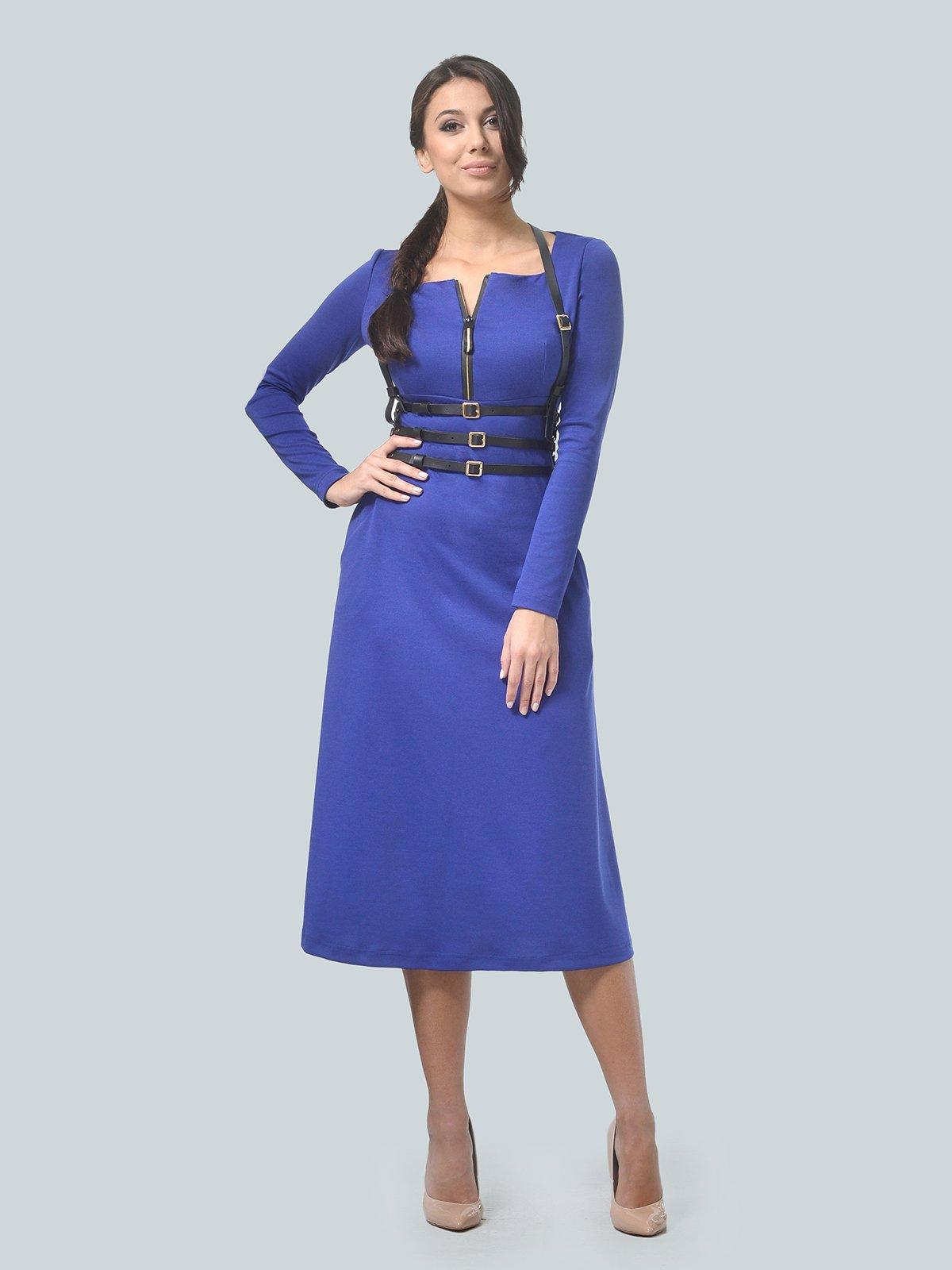 Платье цвета электрик | 3683585 | фото 2