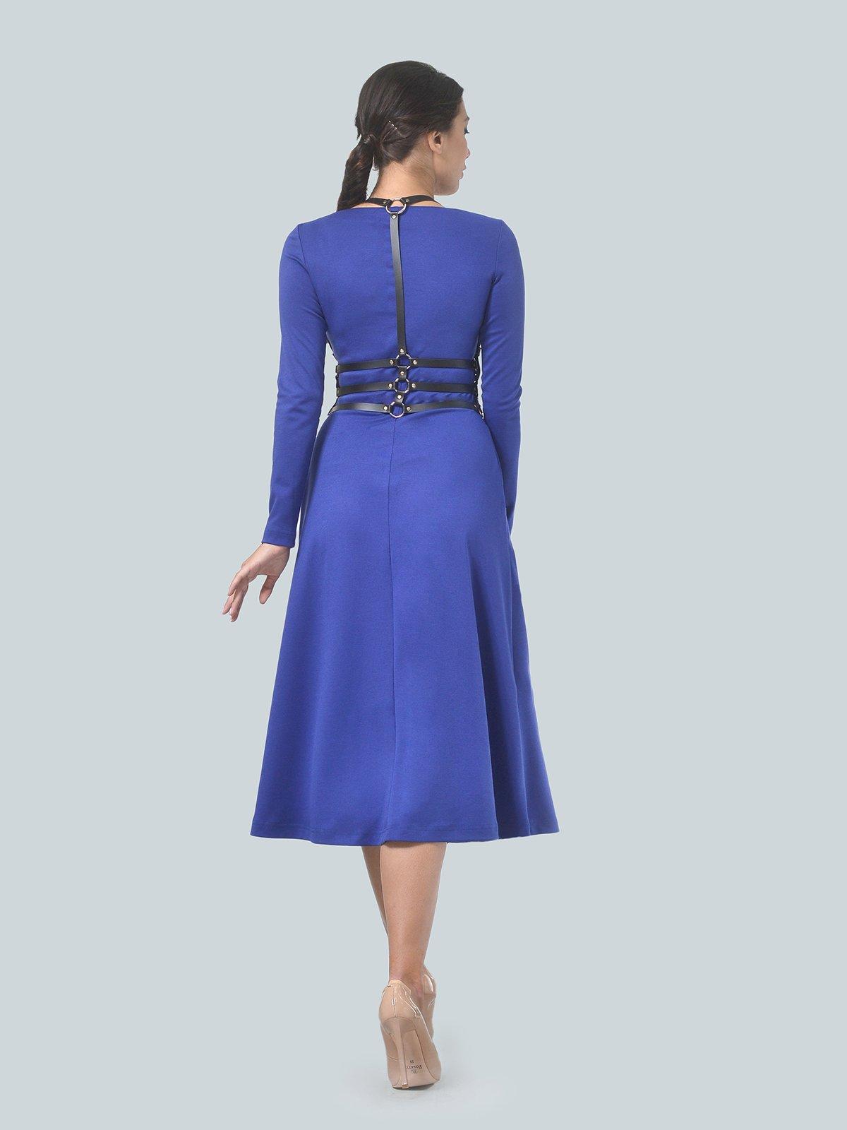Платье цвета электрик | 3683585 | фото 3