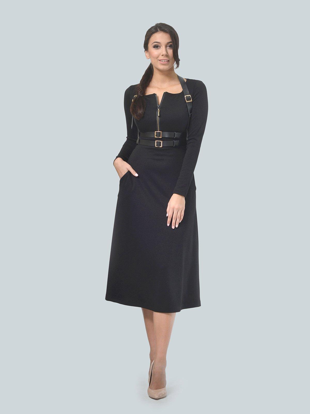 Платье черное | 3683586 | фото 2