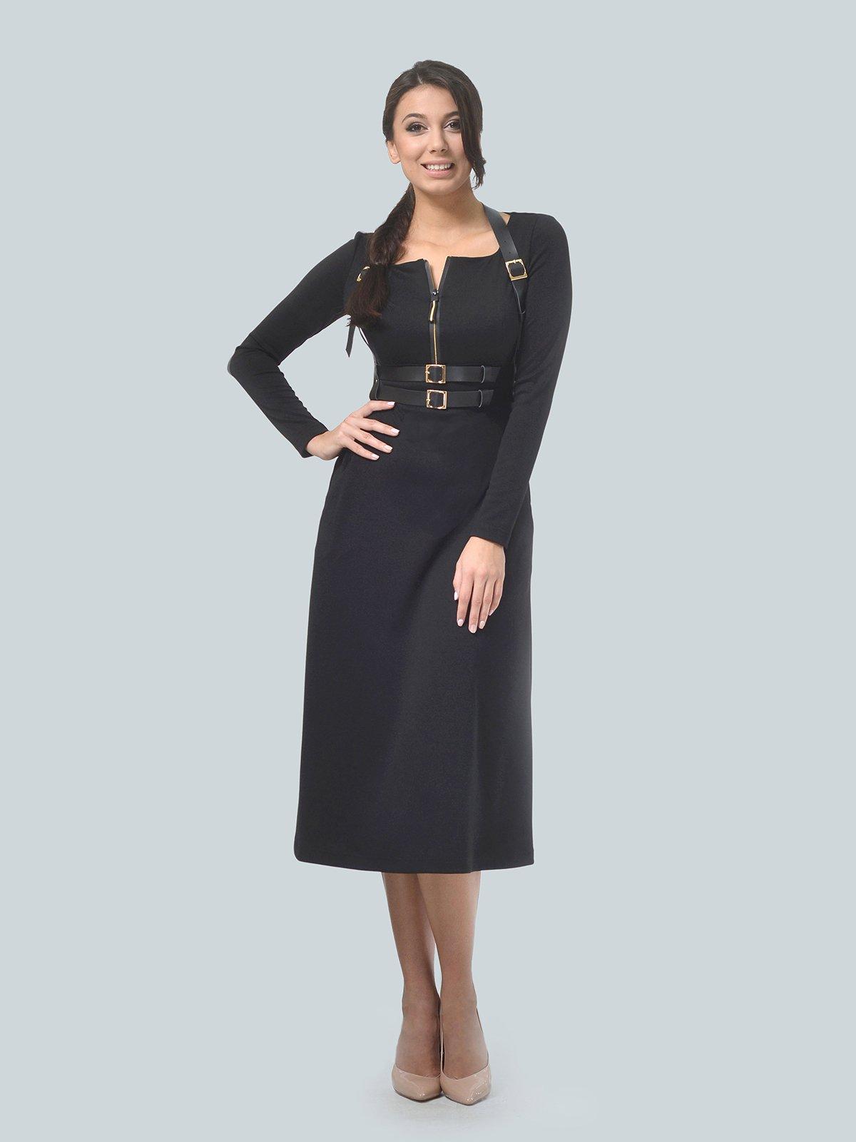 Платье черное | 3683586 | фото 3