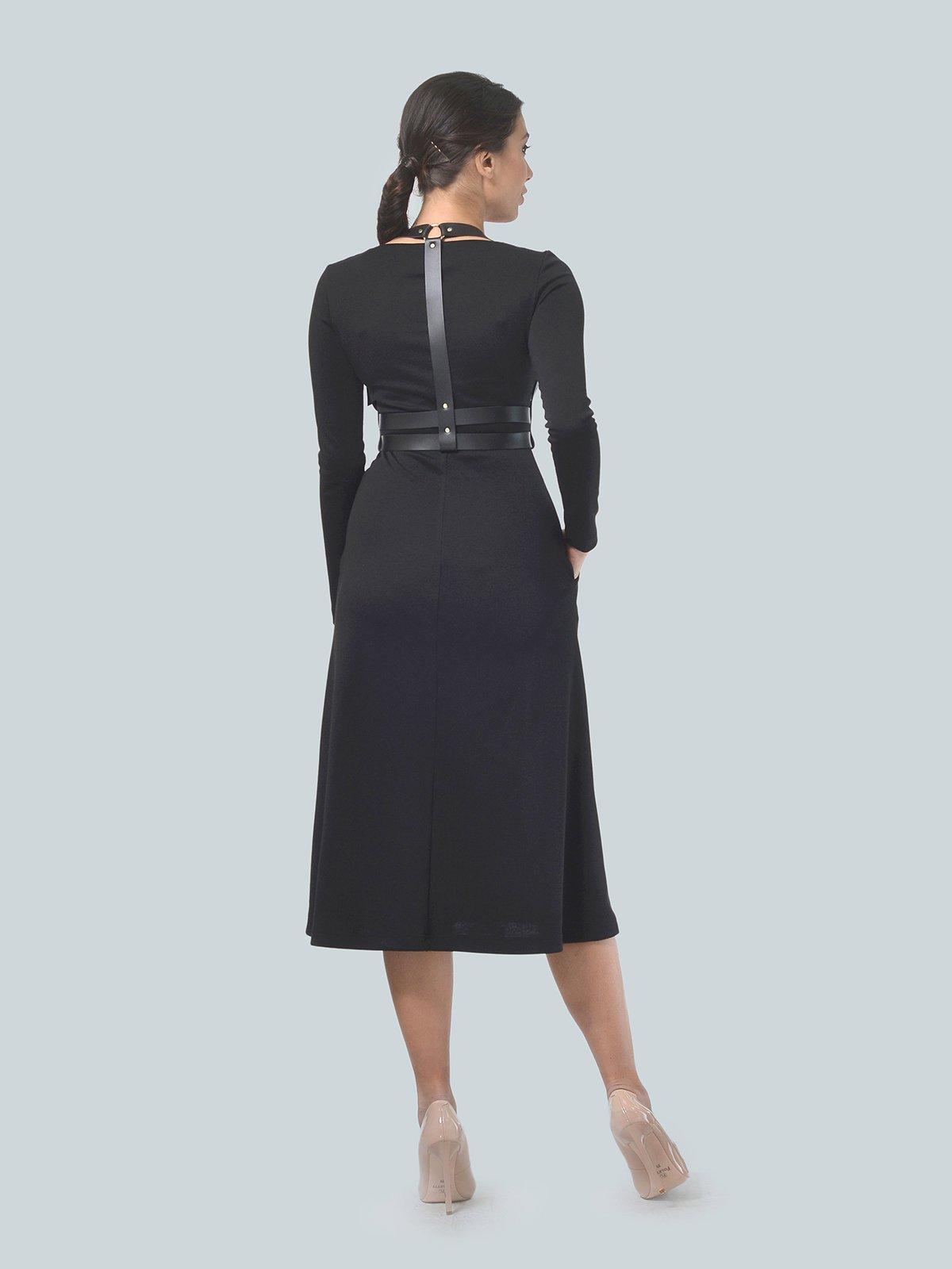 Платье черное | 3683586 | фото 4