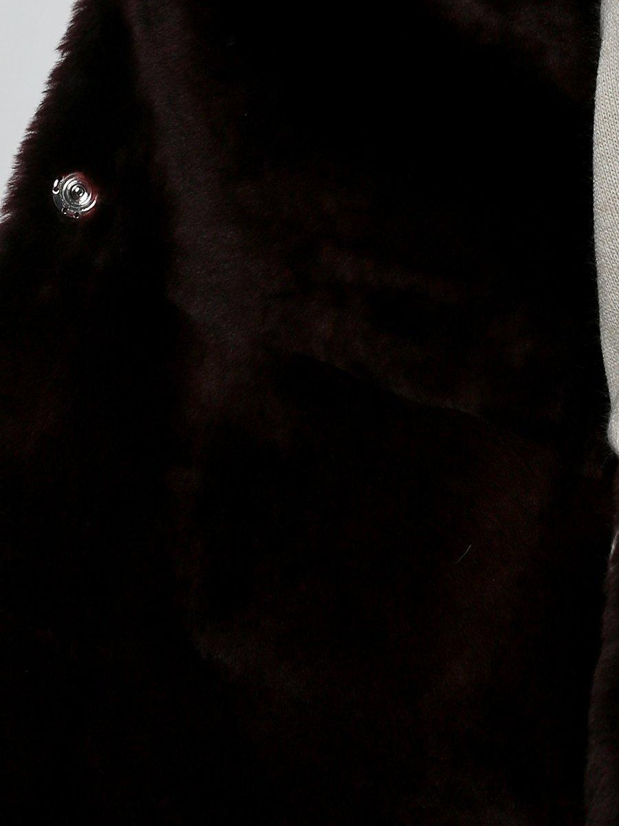 Дубленка бордовая | 3676391 | фото 2