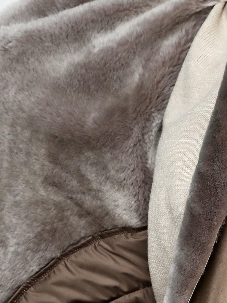 Дубленка серая | 3676392 | фото 3