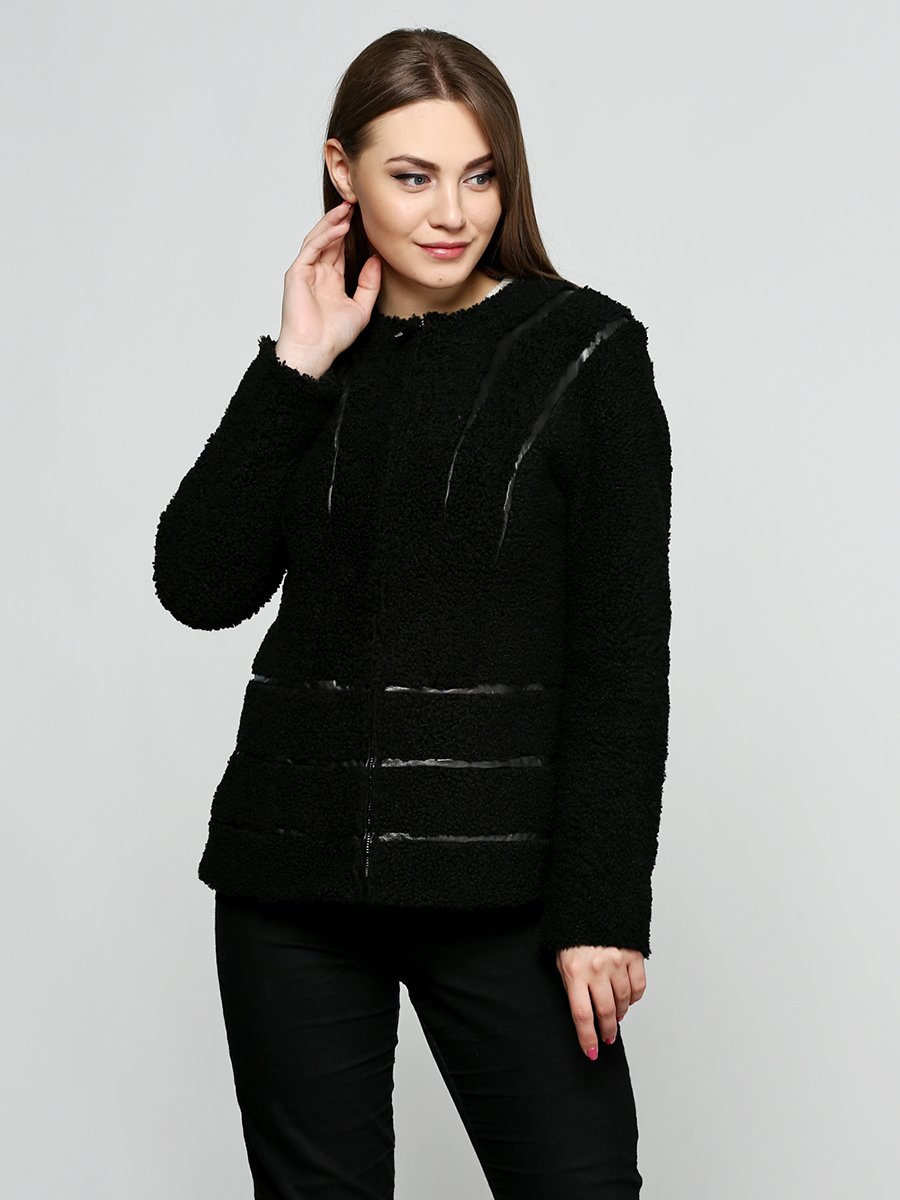 Дубленка черная   3676501