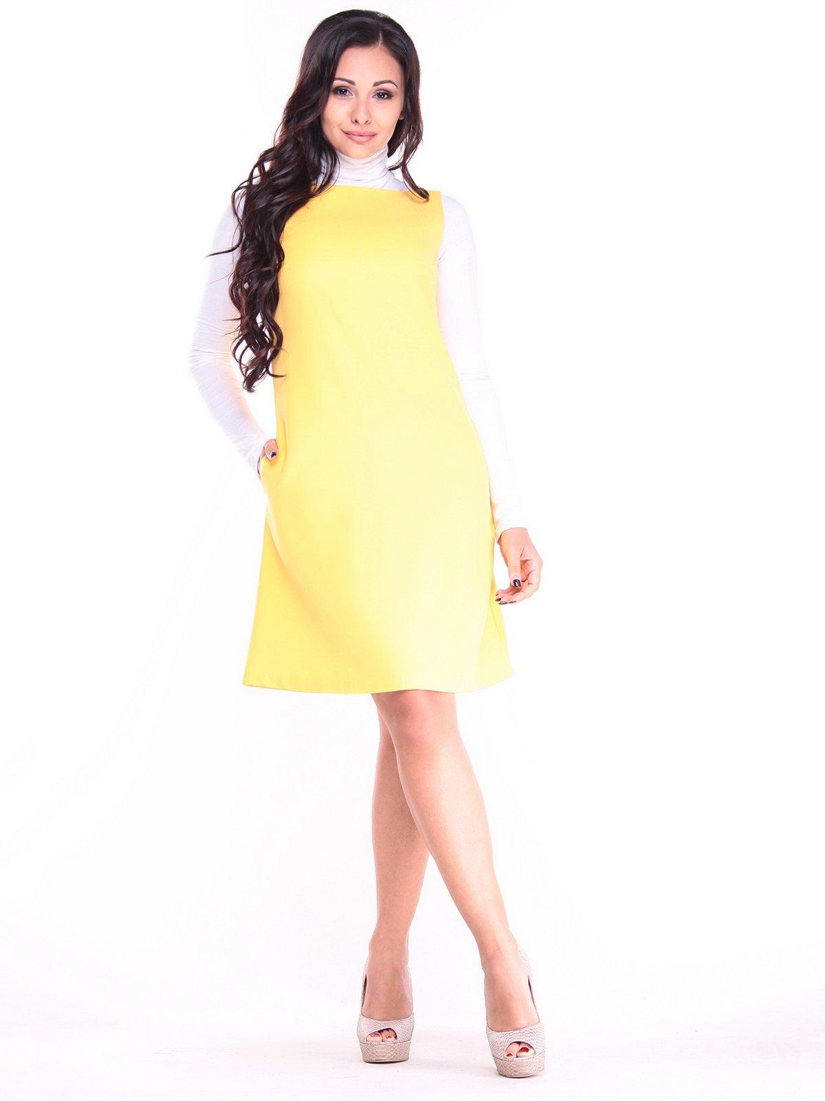 Сукня-сарафан жовта   3686786