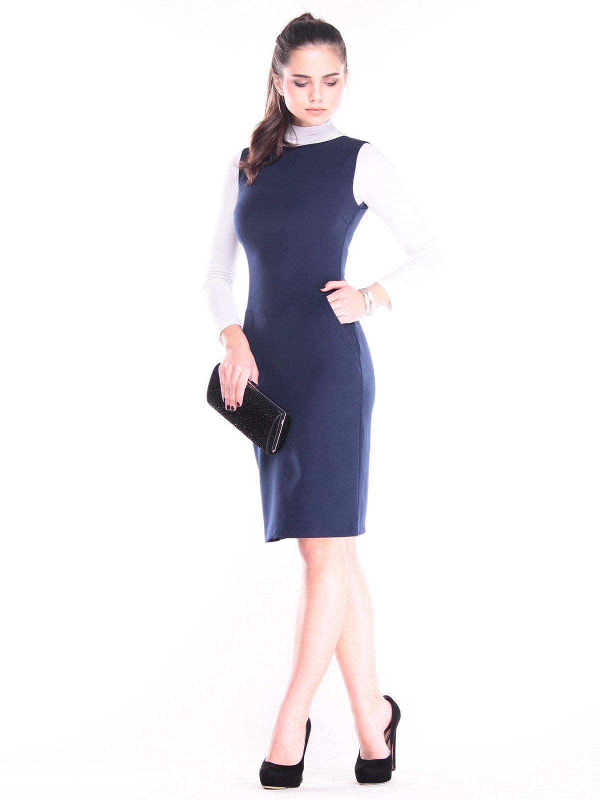 Сукня темно-синя | 3686796
