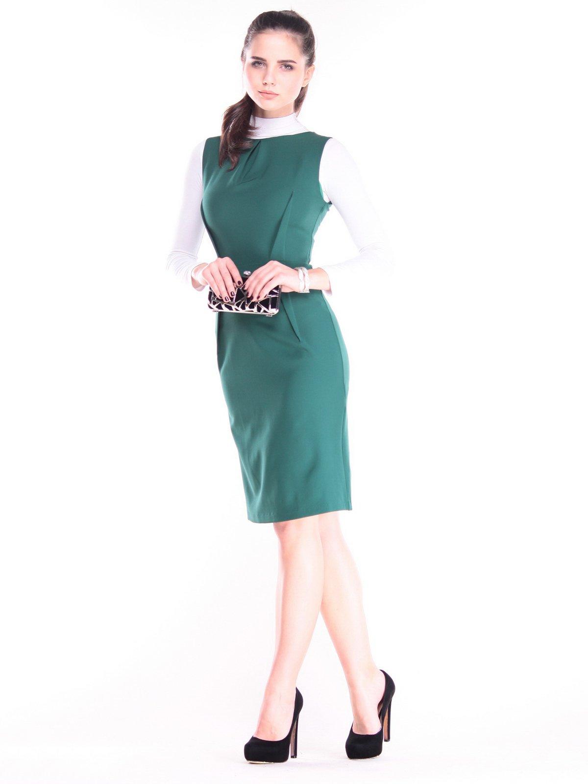 Сукня темно-смарагдового кольору | 3686801